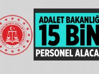 Adalet Bakanlığı 2020 Yılı 15 Bin Personel Alacak