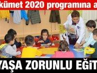 2020 Yılında 5 yaş eğitim zorunlu oluyor