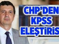 CHP'den ÇOK SERT KPSS Açıklaması!