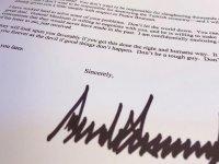 Trump'ın Cumhurbaşkanı Erdoğan'a yazdığı ikinci mektup ortaya çıktı! İşte mektupta yazanlar..
