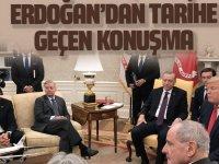 Erdoğan'dan tarihe geçen konuşma