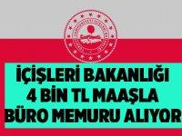 4 Bin TL Maaşla Büro Memuru ve Sosyal Çalışmacı Alım ilanı