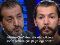 Elenen Mustafa şeflere çıkıştı!