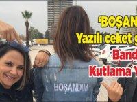 İzmir'de Eşinden boşandı bandoyla kutladı!