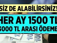 İşsize 1500 - 3000 TL Ödeme