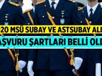 2020 Yılı Subay Astsubay Alımı Başvuru Şartları Belli Oldu