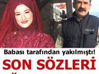 Babasının yaktığı Selda Yellibulut'a müdahale eden hemşire ve hastabakıcı konuştu
