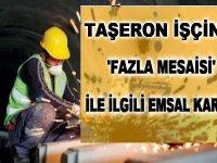 4/D Kamu Taşeron Kadrolu işçi için Fazla Mesai Ücreti için Emsal Karar