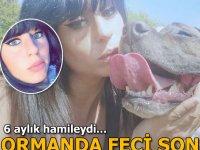 Hamile bir kadın avcı köpeklerinin saldırısında aldığı yaralar sonucu öldü.