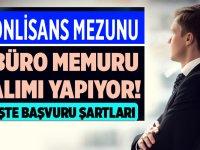 İzmir Büyükşehir Belediyesi memur alımı 2020