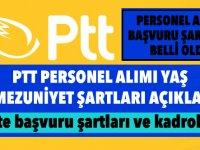 PTT 55 bin personel alım şartları Resmi Gazete'de