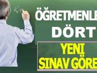Son Dakika! Öğretmenlere 4 Yeni Sınav Görevi