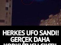 Herkes o gökyüzündeki o görüntüyü UFO sandı! Ancak gerçek daha da korkutucu çıktı!