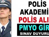 Polis Akademisi PMYO Polis Alımı Giriş Sınavı Duyurusu 2020