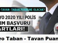 PMYO 2020 yılı lise mezunu polis alımı şartları