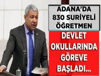 Suriyeli 850 Öğretmen Adana'da Görev Başladı!