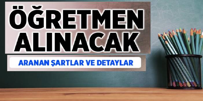 Belediye Öğretmen Alımları 2020