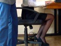 Ofiste iğrenç olay! Masa altından gelen sesi duyan çalışan savcılığa koştu