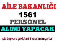 2828 sayılı Kanun ile 1561 Devlet Memuru Alım ilanı yayınlandı