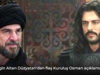 Kuruluş Osman dizisi için sinyali verdi