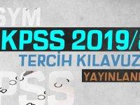 KPSS-2019/8 Tercih Kılavuzu Yayınlandı
