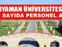 Adıyaman Üniversitesi 2020 Personel Alıyor!