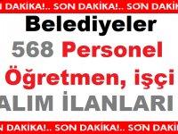 Türkiye Geneli 17 Belediye Çok Sayıda iş ilanları Yayınladı!