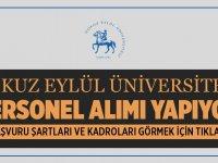 Dokuz Eylül Üniversitesi Yeni Personel Alıyor