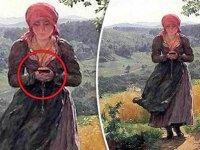 1850'li yıllarda çizilen resim zamanda yolculuğa mı işaret ediyor?