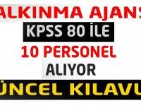 Lise, önlisans veya lisans mezun en az KPSS 60 puan Devlet Memuru Alımı