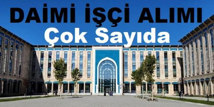 Ankara Sürekli Daimi iş ilanları 2020