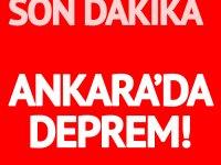 Ankara'da 3.9 büyüklüğünde deprem! 27 Ocak 2020