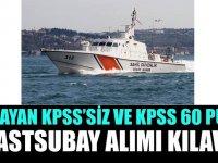 KPSS 60 puan ile 175 astsubay alımı başvuruları için kılavuz yayınlanmıştır