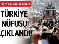Türkiye'nin Nüfusu 4 Şubat 2020