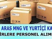Aras, UPS MNG, Yurtiçi Kargo iş ilanları 2020