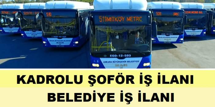 Eskişehir Belediyesi 48 Otobüs Şoförü Alıyor