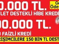 Gençlere 200 bin TL hibe ve kobilere kredi