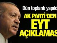 AK Parti'den EYT'liler için yeni sistem önerisi!