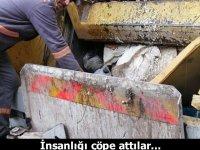 Olay İstanbul'da yaşandı, temizlik işçileri son anda fark etti...