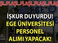 Ege Üniversitesi iş ilanları 2020