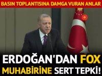 FOX TV MUHABİRİNE SERT TEPKİ!