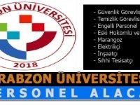Trabzon Üniversitesi Sürekli Daimi iş ilanları 2020