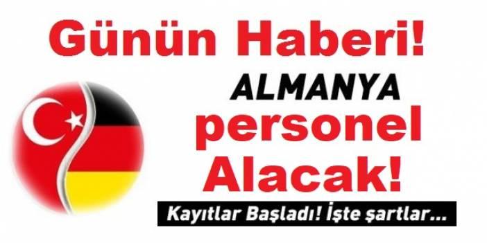 Almanya Mart 2020 Memur Personel iş ilanları