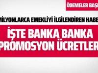 İşte banka banka 2020 promosyon ücretleri