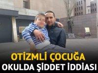 Karabağlar'da otizmli çocuğa şiddet i