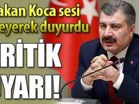BAKAN KOCA SESİ TİTREYEREK AÇIKLADI!