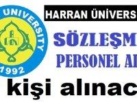Harran Üniversitesi Personel İş ilanları 2020