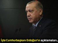 Cumhurbaşkanı Erdoğan koronavirüs için yeni önlemleri açıkladı