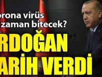 Erdoğan'ın verdiği tarih