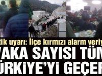 """""""Vaka sayısı tüm Türkiye'yi geçer"""""""